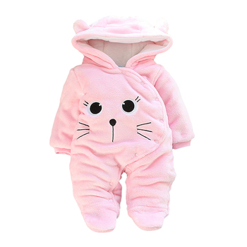 LZH Baby Winter Clothes Newborn Baby Girls Overall Autumn Baby Romper For Baby Boys Jumpsuit Christmas Costume Infant Clothing 17