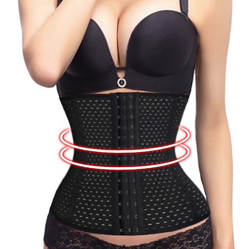 Women Waist Trainer Body Shapers Slimming Belt Modeling Strap Steel Boned Postpartum Band Sexy Bustiers Corsage Corsets
