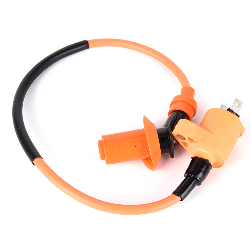 1Pc For GY6 50CC 125CC 150CC Engines Moped Scooter High-efficiency Racing Plastic Ignition Coil Moped ATV Quad Motorcycle