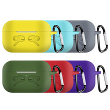 Para Apple Airpods Pro Funda Air Pods Pro Funda auriculares inalámbricos Funda protectora de piel bolsa para Air Pods Pro auriculares Funda(China)