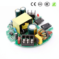 Controlador LED para fuente de alimentación, luces de 60W, 100W y 150W, controlador redondo para transformadores de luz LED de 12V, AC220V a DC12V 5a 8A 12a