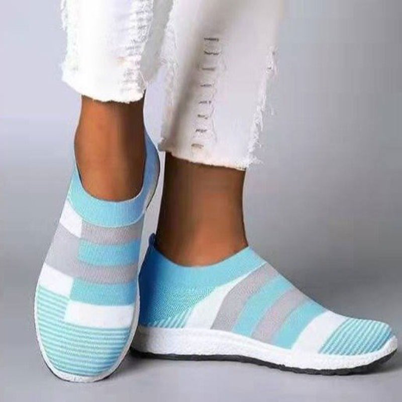 Fashion Slip On Sneakers Women Canvas Shoes 2020 New Spring Women Flat Shoes Female Comfortable Walking Casual Shoes Woman