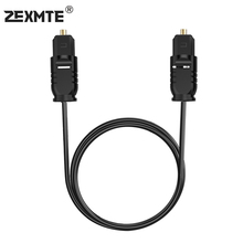 Zexmte Digital Optical Audio Cable Toslink to Fiber 6 Feet/1.8M