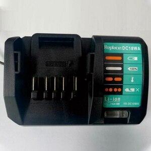 Image 2 - 14.4V 18V Charger DC18WA for Maktec MAKITA DC18SG DC1851 BL1813G BL1415G BL1815G BL1413G UH522D UM167D UR180D(EU Plug)