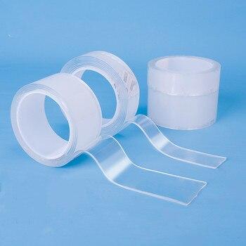 Deli 33601 nano klebeband fixiert glas wand wasserdichte und hohe temperatur beständig doppelseitige klebeband kann wieder verwendet werden
