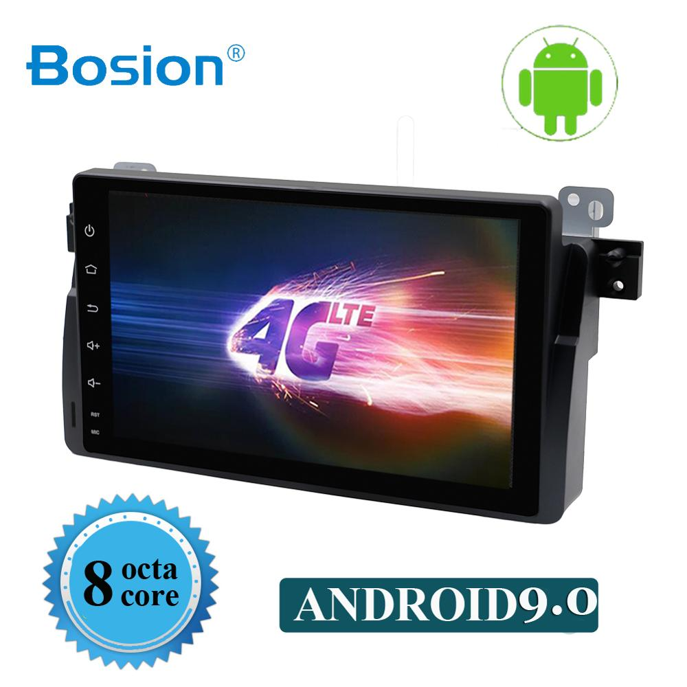 Bosion 9 inch Octa 8 Core 2 din Android 9.0 Auto DVD gps-player Fü<font><b>r</b></font> BMW <font><b>E46</b></font> Radio Multimedia <font><b>E46</b></font> Auto wifi BT optional 3G/4G DAB + image