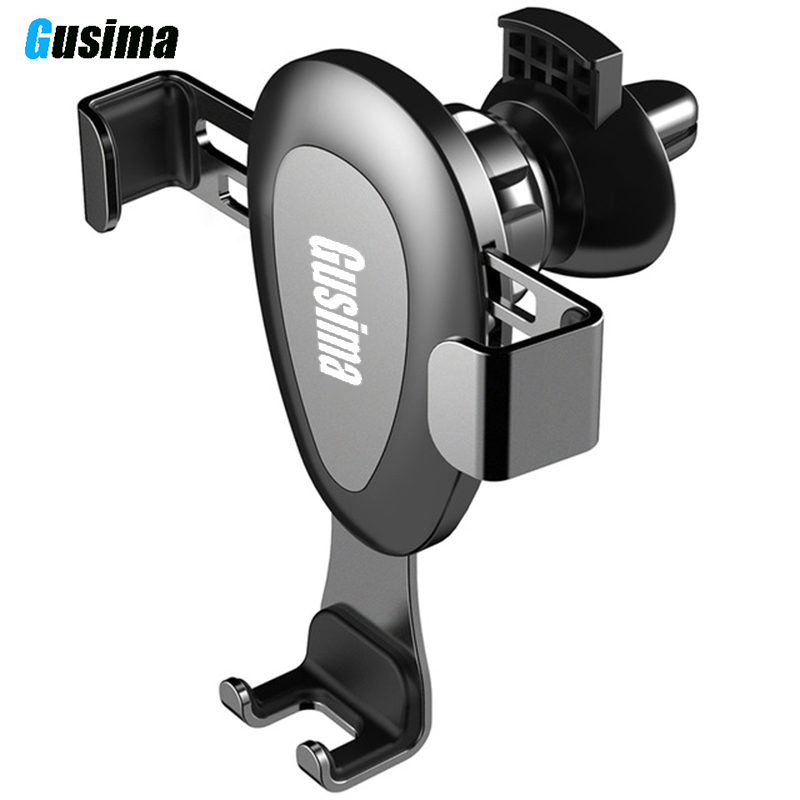 Gusima Car Phone Holder No Magnetic Gravity Stand Mobile Support in Mount for Xiaomi Redmi Note 7