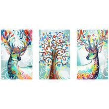 Colorful Deer 5D Special Shaped Diamond Painting Embroidery Needlework Rhinestone Crystal Cross Craft Stitch Kit DIY