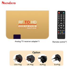 Image 5 - RF To HD All Standard Converter HD To Radio Frequency Signal RF to HD Transmitter Signal Analog TV Receiver Adapter for TV