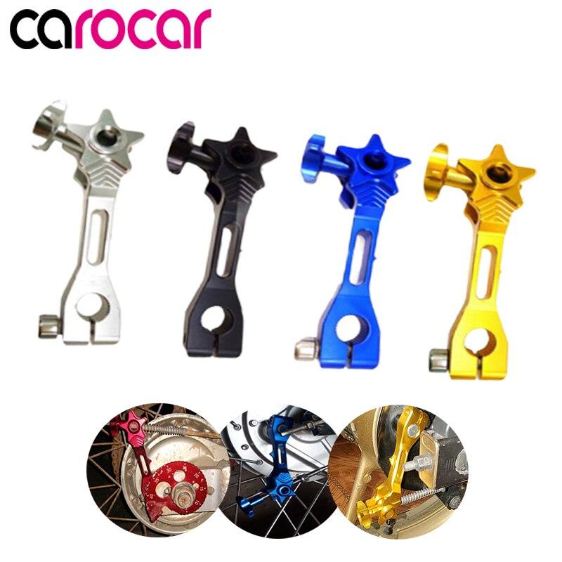 Carocar Motorcycle Accessories Universal Rear Brake Rocker Arm / Lever CNC Aluminum For Honda Yamaha