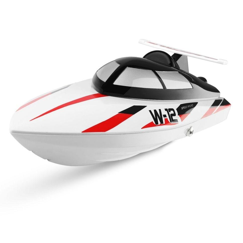 Wltoys Wl912-a haute Simulation télécommande Type de bateau sans fil haute vitesse 2.4g télécommande bateau Anti-pointe Rc hors-bord