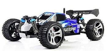 LeadingStar Wltoys A959 Vortex 1/18 2.4G 4WD Electric RC Car Off-Road Independent Suspension Buggy RTR-Blue