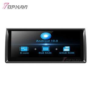 TOPNAVI Восьмиядерный Android 10,0 автомобильный Радио плеер стерео для BMW M5(1995-2003)E39(1995-2003) E53 (2000-2007) GPS навигация без DVD