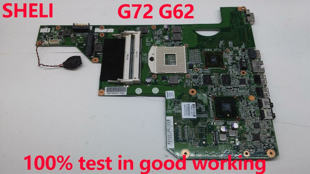 for HP pavilion COMPAQ 616449-001 CQ62 G62 G72 Intel motherboard 100/% testOK