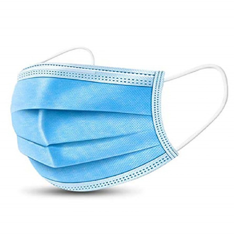 20 50 100Pcs Anti-dust Breathable Mask Mouth Face Mask Anti Dust Mask Windproof Three Layers Mask Disposable Independent Package