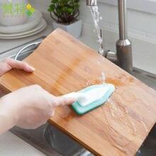 Маленькая кухонная щетка пластиковая Чистящая Щетка с ручкой