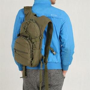 Image 5 - Scione sac à dos vert militaire, sac de voyage imperméable, Oxford décontracté, sac à dos de voyage pour femmes