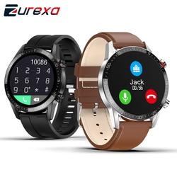 Смарт-часы Zurexa L13 мужские с Bluetooth, пульсометром и защитой класса IP68