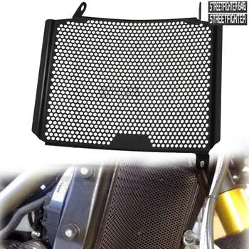 цена на Motorcycle Aluminum Radiator Side Guard Grill Grille Cover Protector For Ducati StreetFighter 848 Upper StreetFighter 1098 Upper
