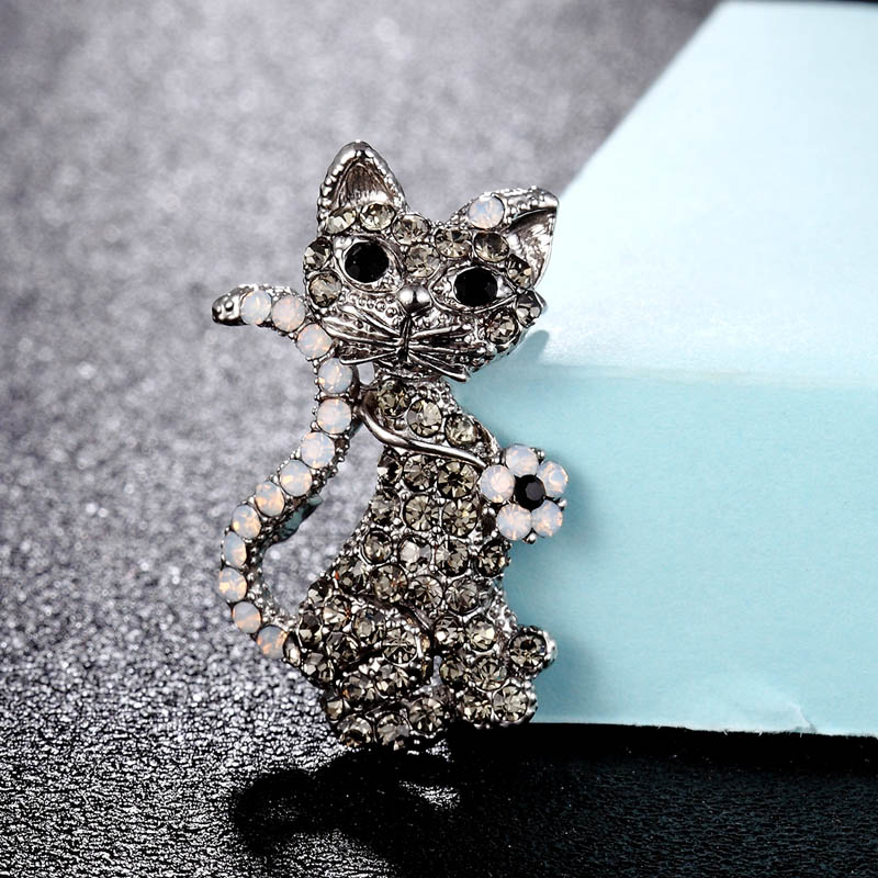 STUNNING GOLD CHAMPAGNE LOBSTER CRYSTAL BROOCH DIAMANTE BROOCHES GIFT CHRISTMAS
