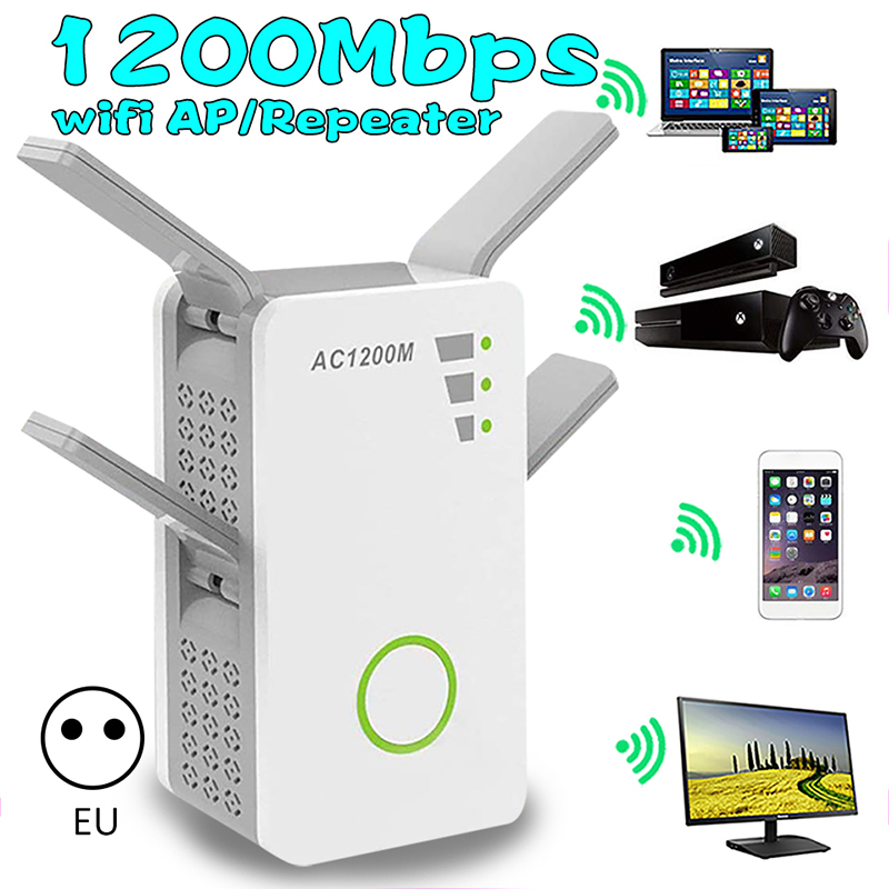 Wireless Wi-fi 802.11n 1200mbps 2.4g Firewall Router Repeater Extender Repetidor Booster 4g For Xiaomi Wi Fi Wifi Versterker