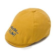 Newborn Boy Hats Caps Spring Baby Cotton Children Autumn for Outerwear 3-Colors KB-MZ115