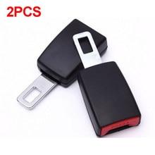2 uds Universal Clip para cinturón de seguridad de coche extensores de cinturón de seguridad hebilla de 21mm