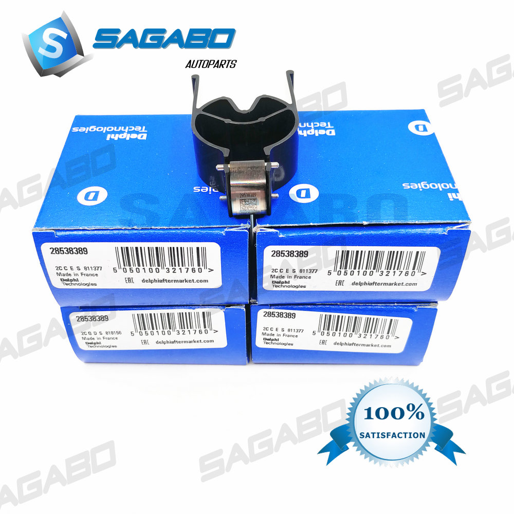 4pcs GENUINE AND BRAND NEW DIESEL FUEL INJECTOR CONTROL VALVE 621C, 9308-621C, 28239294, 28440421, 28538389