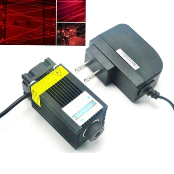 200mw 650nm Red Laser Module Focus Dot Red Lights Room Escape Positioning w 12V Adapter 532nm 50mw green laser 650nm 200mw red laser dot module 12v w driver