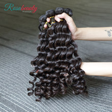 Melodie Hair Loose Curly 30 32inch H Brazilian Raw Virgin Unprocessed Hair Natural Color 100% Human Hair Weaving 4 Bundles Deal(China)