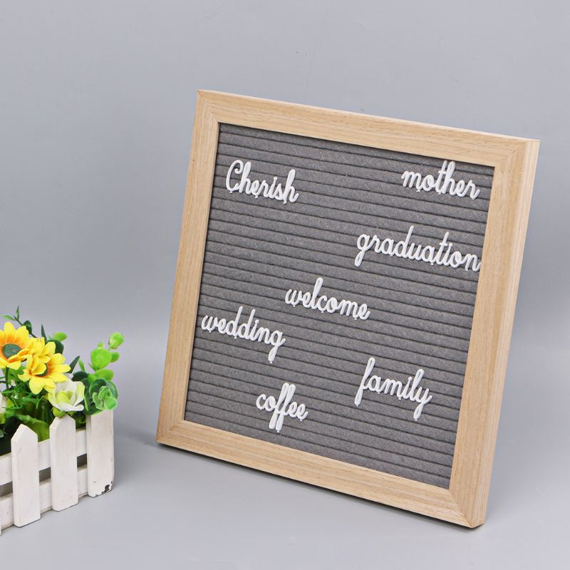 Letter Board Letters Set 194 Numbers Special Characters Words For Felt Changeable Message Signs & Letterboards DXAC