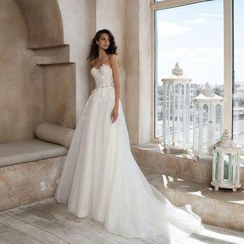 Exquisite Sweetheart Neckline Lace Wedding Dress with Wrap Vestido de Novia 2020 New Corset Bridal Gown - discount item  43% OFF Wedding Dresses