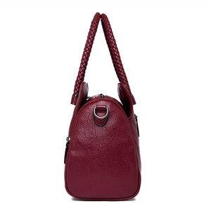 Image 3 - Casual Tote Bag Leather Luxury Handbags Women Bags Designer Handbags High Quality ladies Crossbody Hand Bags For Women 2020 Sac