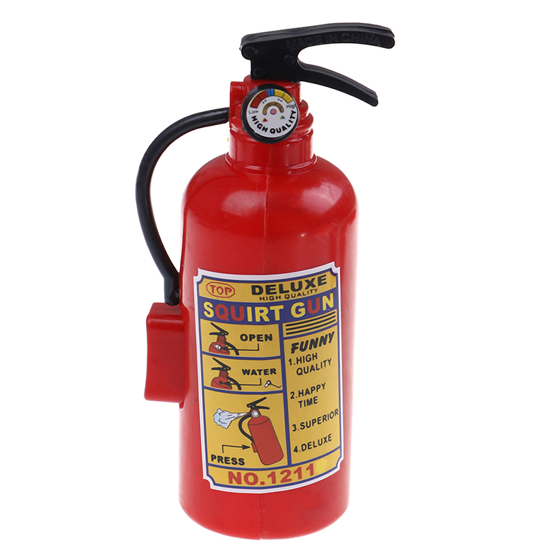 Extinguisher Firefighter Water Sprayer Gun Fireman Backpack Water Spraying Toys Outdoor Water Beach Toys For Kids Summer Gift