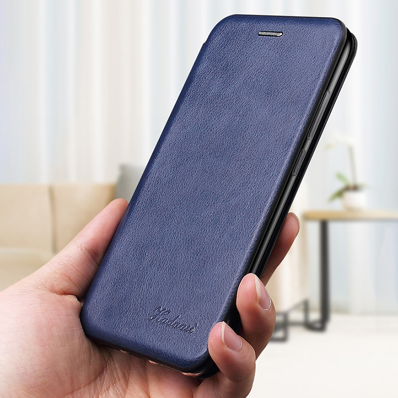 Leather Flip Magnetic Case For Xiaomi Redmi note 8t 8a 9 8 pro 9s 7 7a 5 plus a2 6
