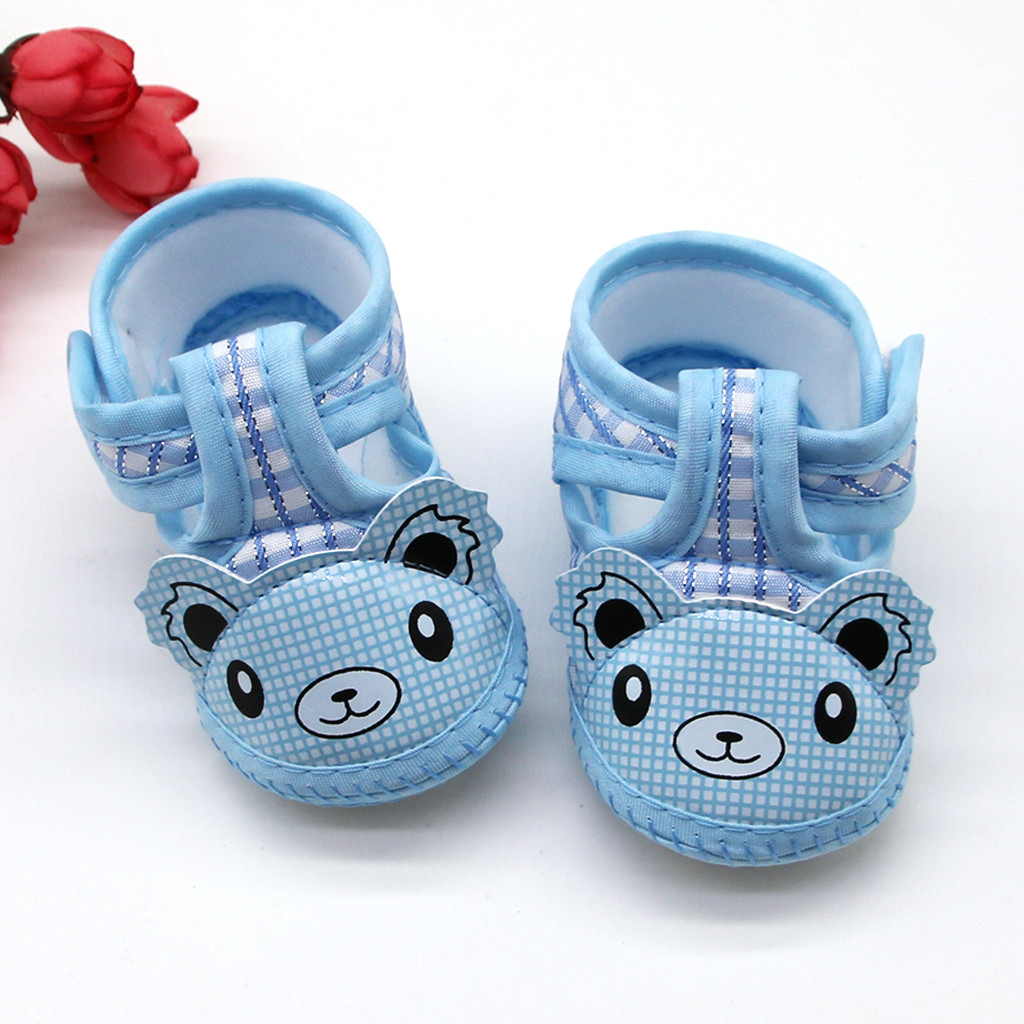 Sandals Shoes Newborn Baby Toddler Girls Infant Cotton Sneaker Tenis Light-Weight Soft-Soled