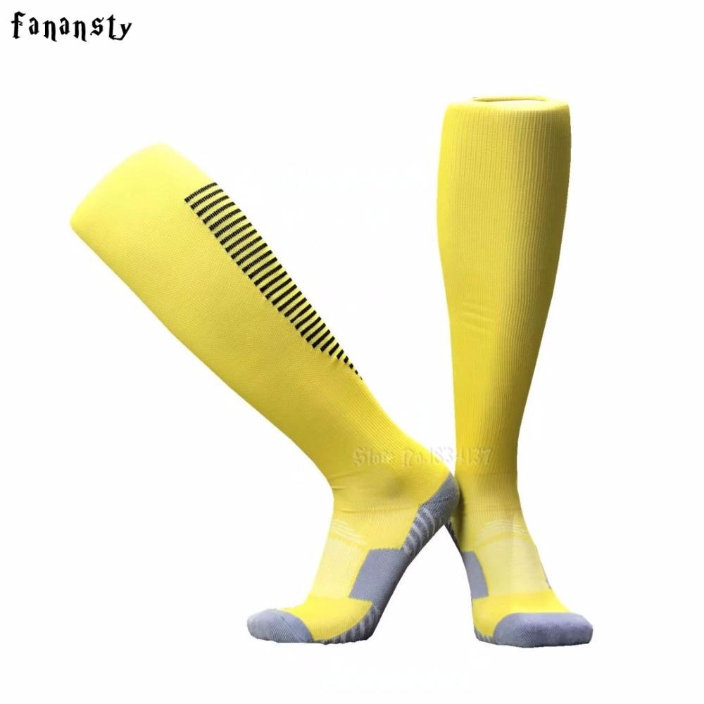 Мужские носки для футбола, мужские носки, пара уплотненных спортивных носков, противоскользящие футбольные носки, дышащие хлопковые носки