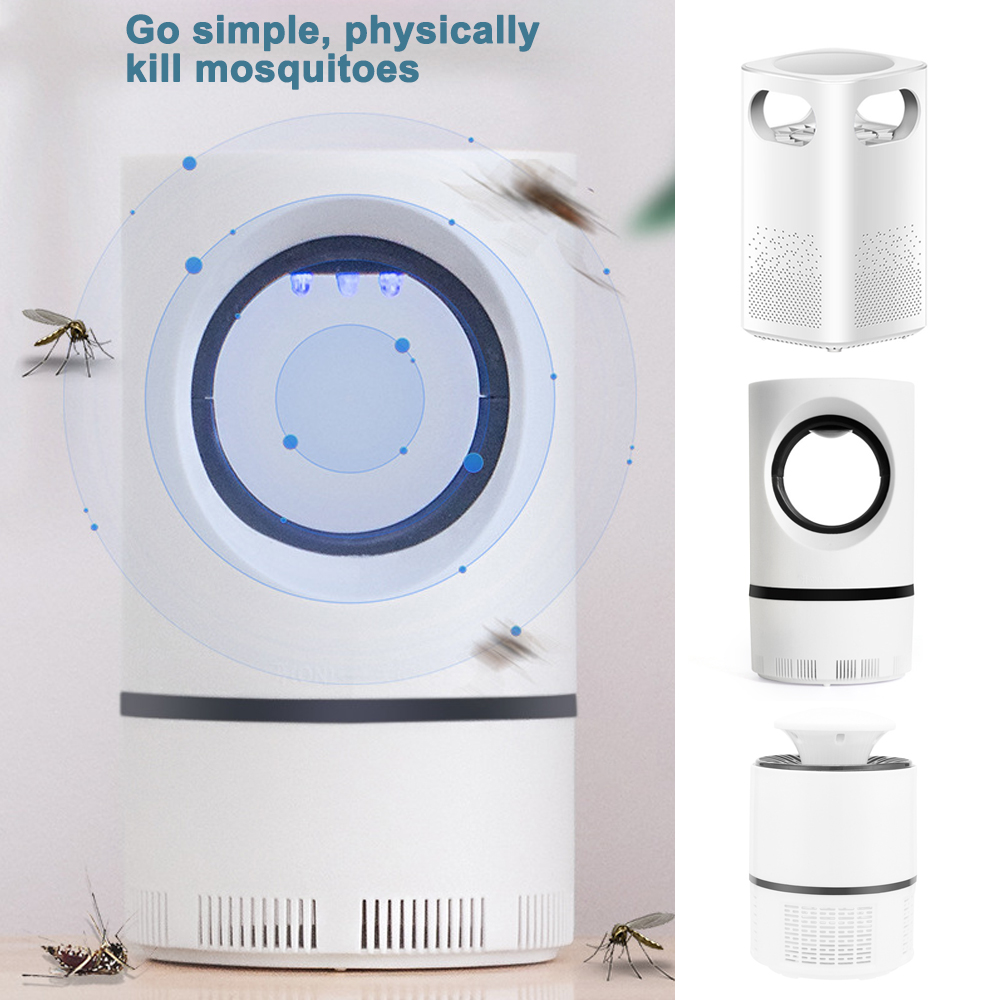 LED Mosquito Killer Lamp ABS USB Electric Mosquito Trap Anti Mosquito Bug LED Insect Killer Light for Outdoor