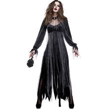 Костюм Невесты на Хэллоуин косплей костюмы духовной любви Ужасный