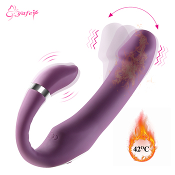 Dildo Vibrator erotic For adult Couples 10 Speeds Sex Toys Massager Anal Clit Heating Function Silicone toys