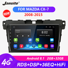 Jansite RDS 9 Android Car Radio For Mazda CX7 2008-2015 DSP Touch screen player HIFI function 2G+32G ROM coche video with frame