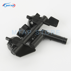 Image 5 - MTAP Headlight Cleaning Water Spray Jet For BMW 3 Series E46 1997 2006 318 320 323 325 328 330 M3 Front Headlamp Washer Nozzle