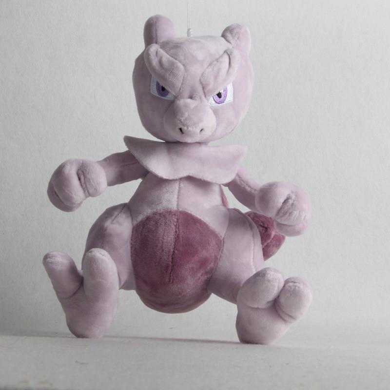1pcs 25cm Mewtwo Plush Toys Doll Mewtwo Plush Pendant Soft Stuffed Toys For Children Kids Birthday Christmas Gift