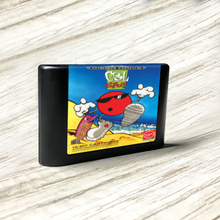 Serin nokta EUR etiket Flashkit MD akımsız altın PCB kartı forSega Genesis Megadrive Video oyunu konsolu