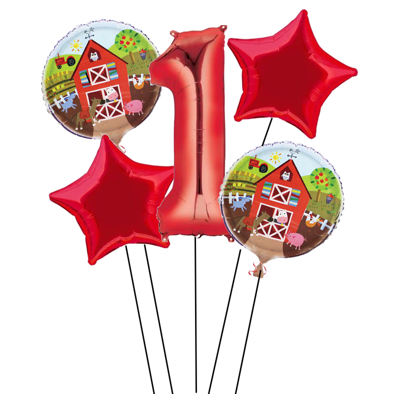 farm-friends-party-round-foil-helium-balloon-46cm-18inch-product-image