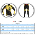 Fahrrad Radfahren Clothings Sets Fahrrad Sportswear Atmungsaktive Radfahren Jersey Sets männer Lange Sleeve Gepolsterte Hosen