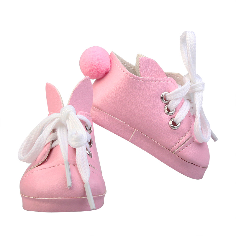 New Style 5cm Doll Accessories Shoes PU Canvas Toy Shoes 1/6 Doll Sneackers Boots For Handmade Doll Accessories The Best Gift