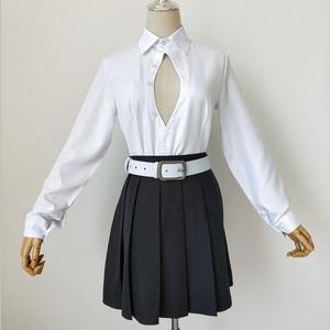 Image 5 - Anime Demon Slayer Cosplay Costume Kimetsu No Yaiba Kanroji Mitsuri Kimono Coat Women Dress Uniform Custom Made