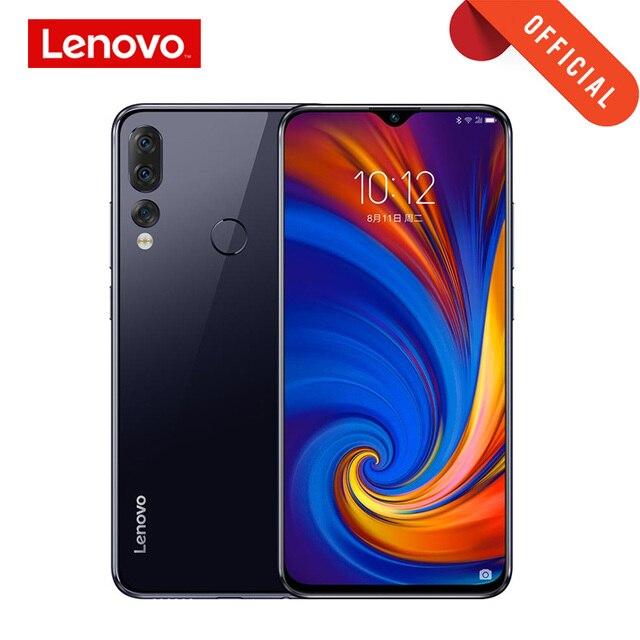 الإصدار العالمي لهاتف Lenovo Z5S 4G/6GB 64GB/128G 6.3 Inch 2340*1080 الهاتف الذكي 3 كاميرات خلفية الهاتف المحمول Snapdragon 710 Octa Core