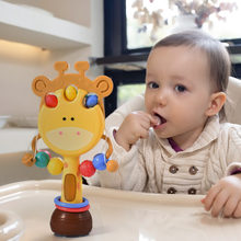 Suction Cup Toy For Newborns 0 12 Month Baby Teether Rattles Soft Montessori Toys Teething Educational Stroller Hanging Toy Gift